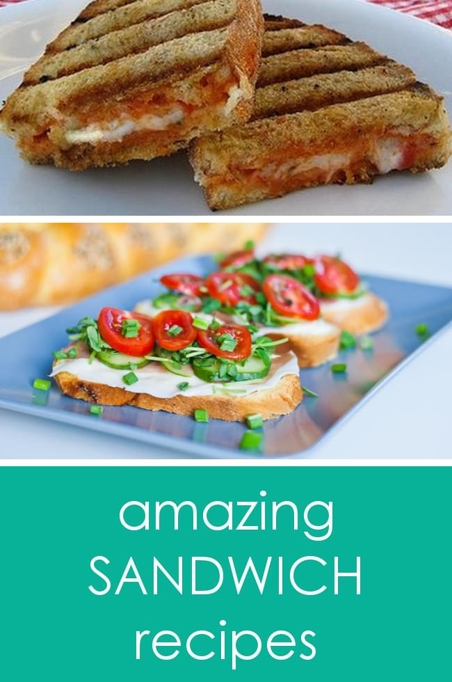 25 recipes for National Sandwich Day