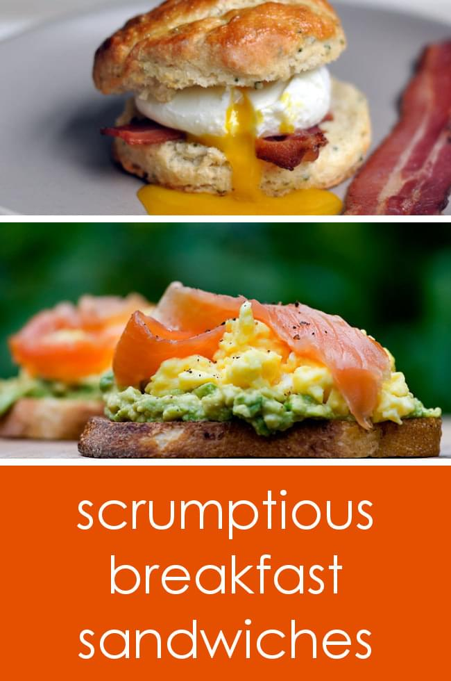 Breakfast sandwich recipes to get your day started right!