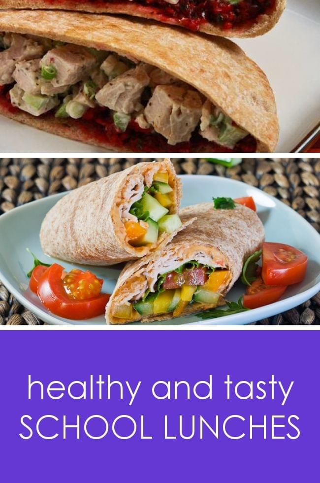 Healthy school lunches your kids will love