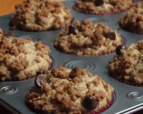 Chocolate Chip Graham Cracker Muffins
