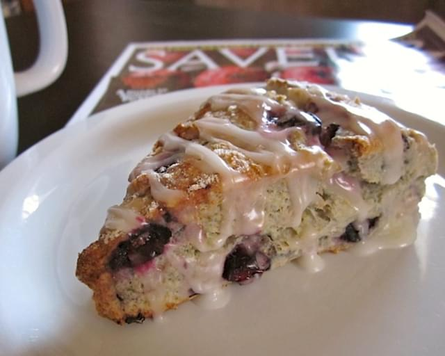 Lemon Blueberry Scones
