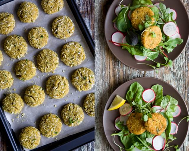Curried Amaranth Patties