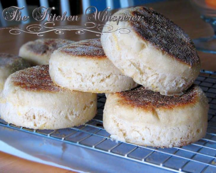 Buttermilk English Muffins - nooks 'n crannies out the wazoo!