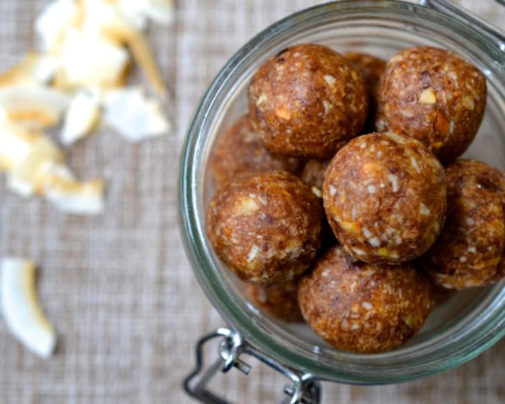 Coconut & Ginger Energy Balls