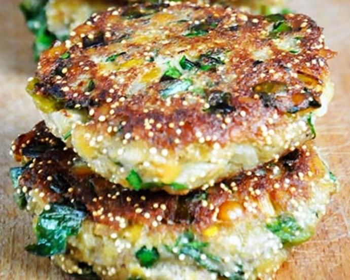 Protein Power Lentils and Amaranth Patties