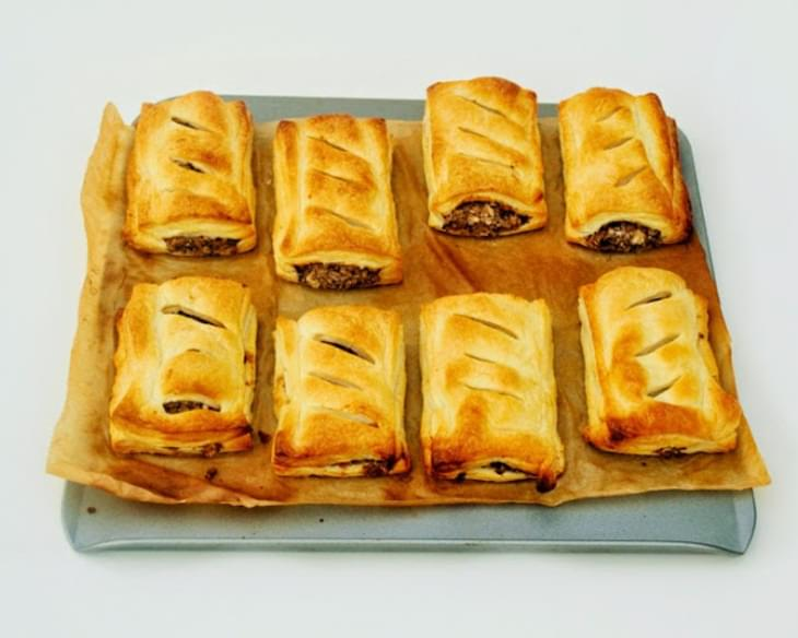 Spicy 3 Bean Sausage Rolls
