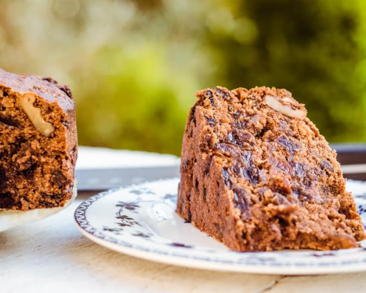 Vegan Boiled Fruit Cake