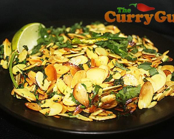 Tajah Badam – A Bangladeshi Stack With Almonds and Chilli