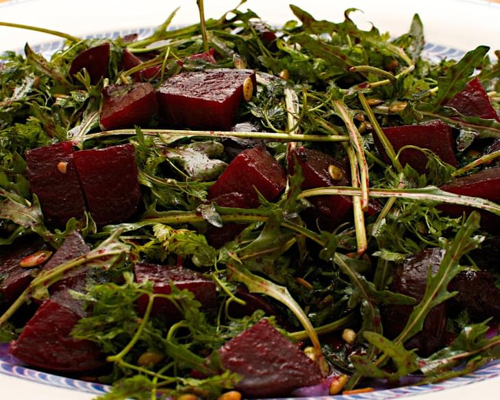 Ottolenghi Roasted Beetroot salad