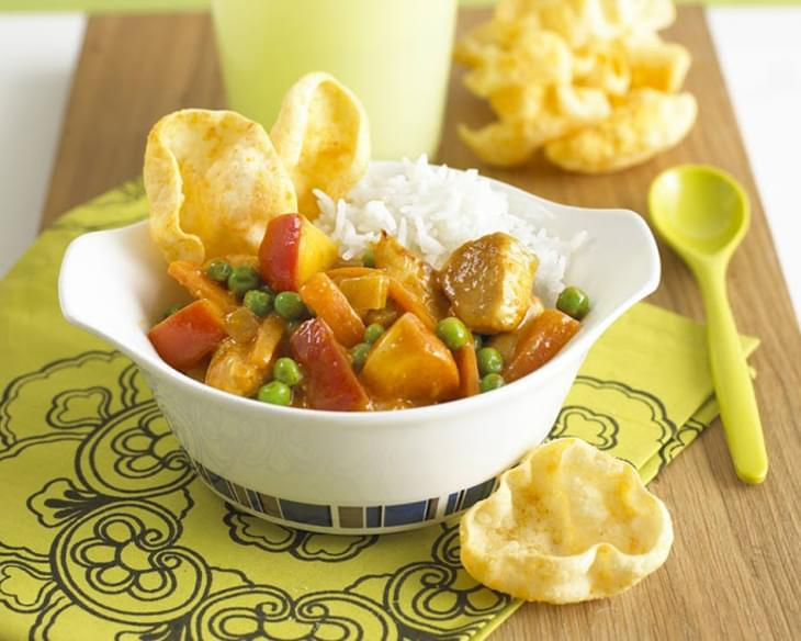 Kids Fruity Chicken Curry