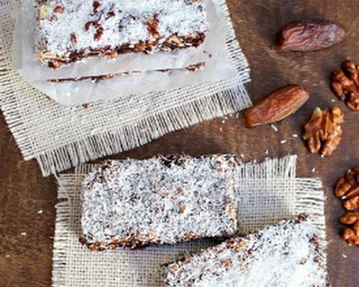 Coconut Mocha Energy Bars