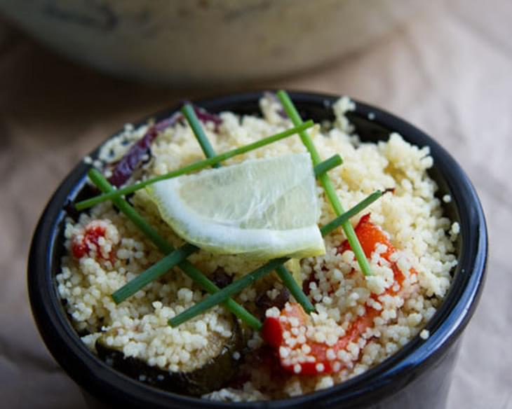 Couscous With Roasted Mediterranean Vegetables