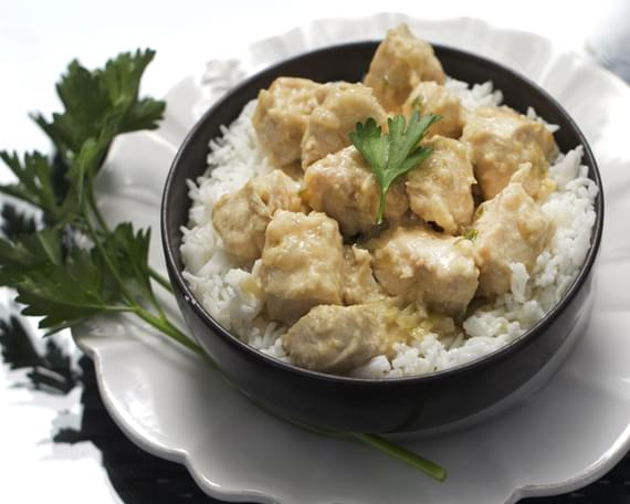 WHITE CHICKEN KORMA from Bangladesh