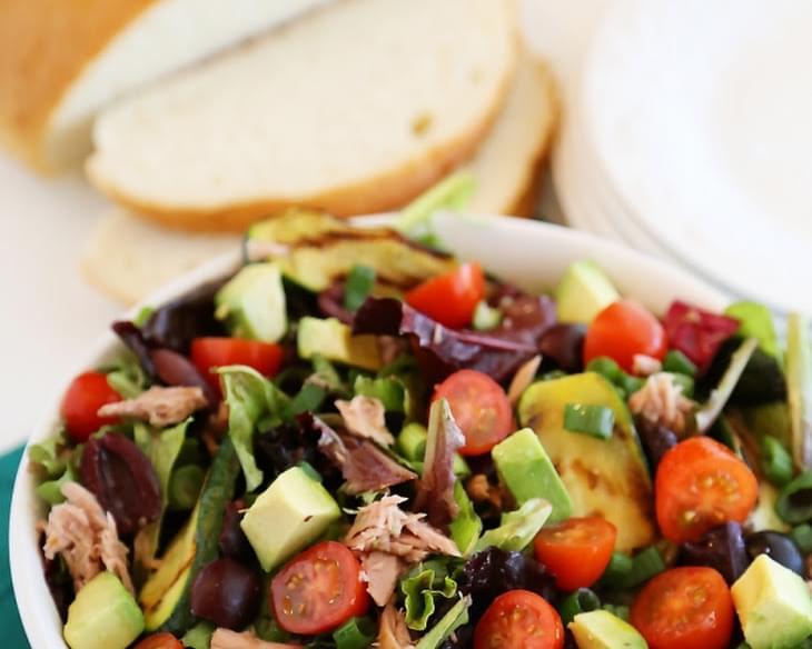 Quick healthy mediterranean tuna fish salad recipe for Tuna fish salad calories