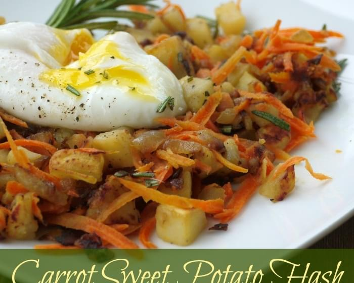 Sweet Potato Carrot Hash