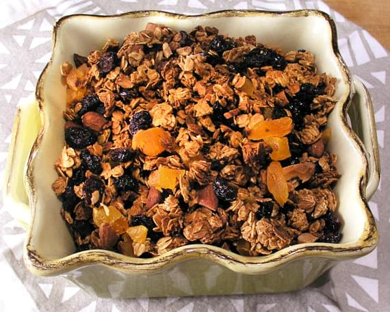 ALMOND MAPLE GRANOLA from Out of this World