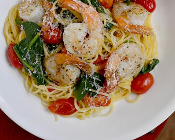 Shrimp Florentine Pasta Recipe