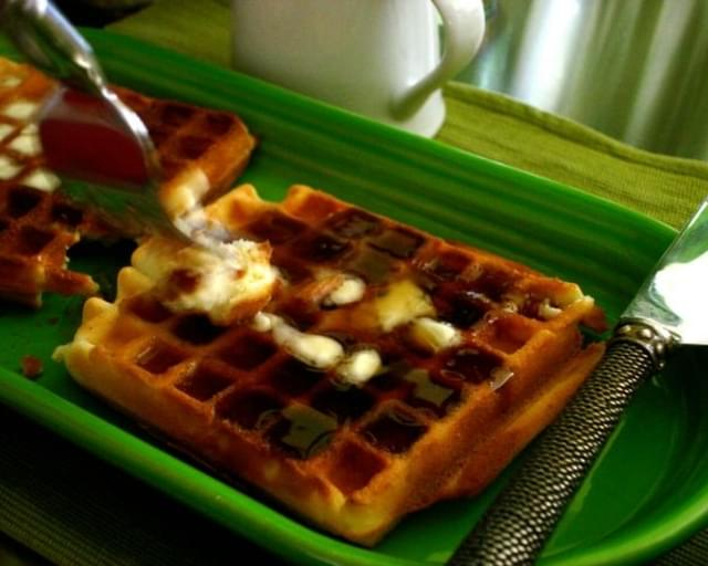 Jimmy's Shortbread Waffles