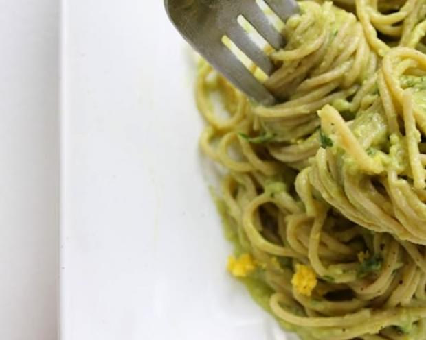 Avocado Cream Pasta Sauce