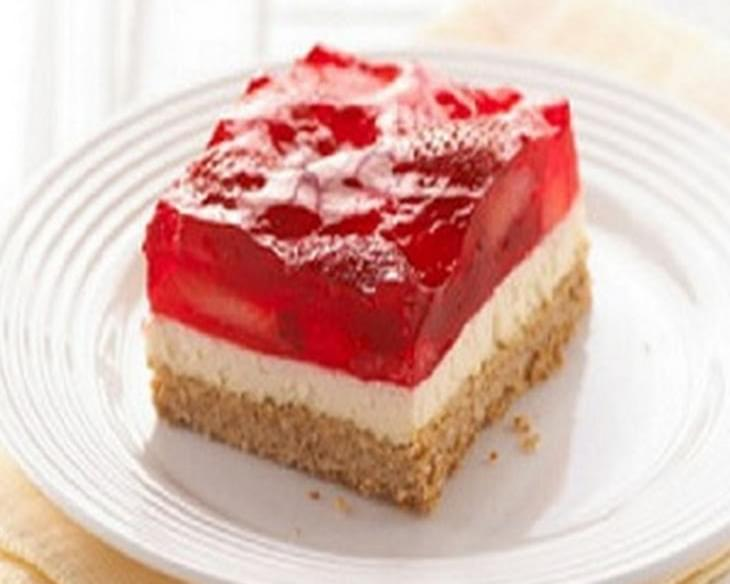 Strawberry-Cream Cheese Dessert