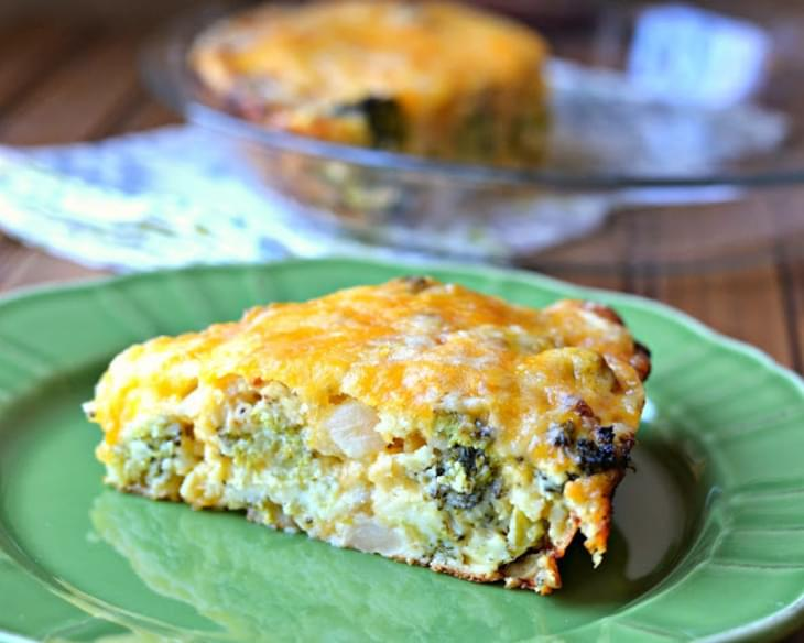 Impossible Broccoli Pie
