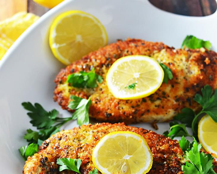 5 Ingredient Breaded Lemon Chicken