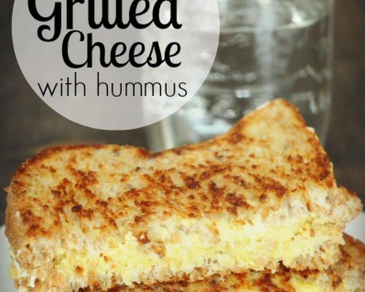 Vegan Grilled Cheese With Hummus