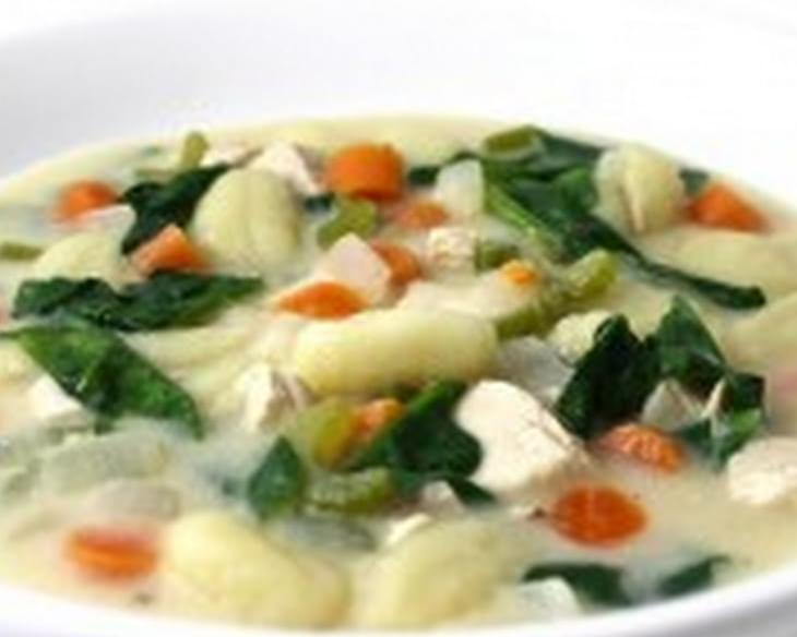 Olive Garden Chicken Gnocchi Soup Made Skinny Recipe