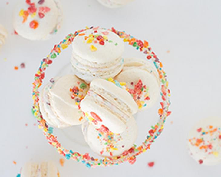 Fruity Pebbles French Macarons + Review