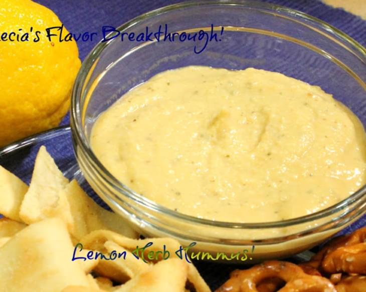 Lemon Herb Hummus!