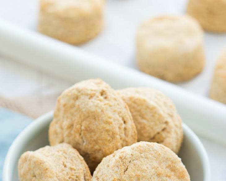 Easiest 100% Whole-Wheat Biscuits