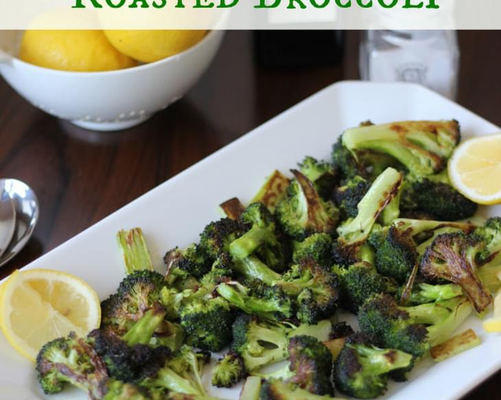 The Best Roasted Broccoli