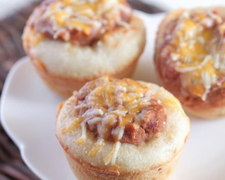 Bean and Cheese Burrito Cups