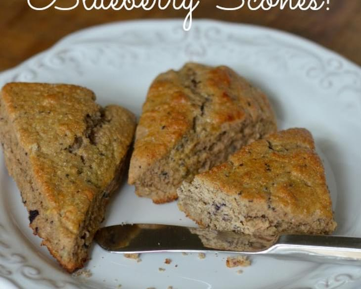 Whole-Wheat Blueberry Scones