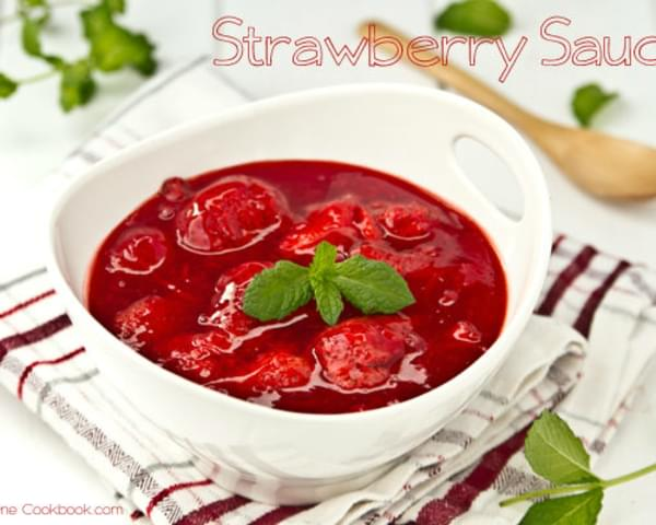 Strawberry Sauce | Strawberry Compote