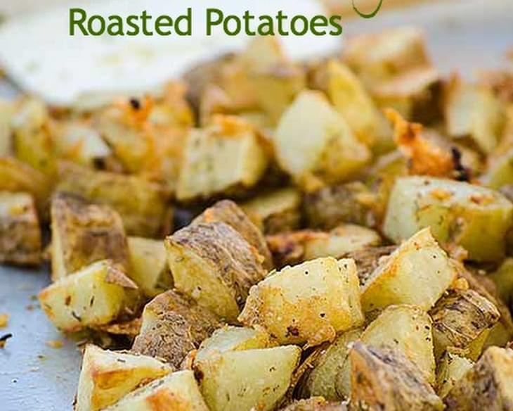 Parmesan and Rosemary Roasted Potatoes