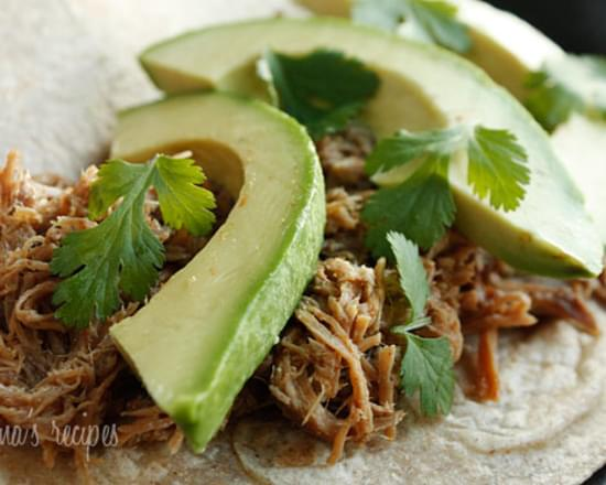Mexican Slow Cooked Pork Carnitas