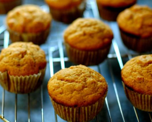Banana Sweet Potato Muffins