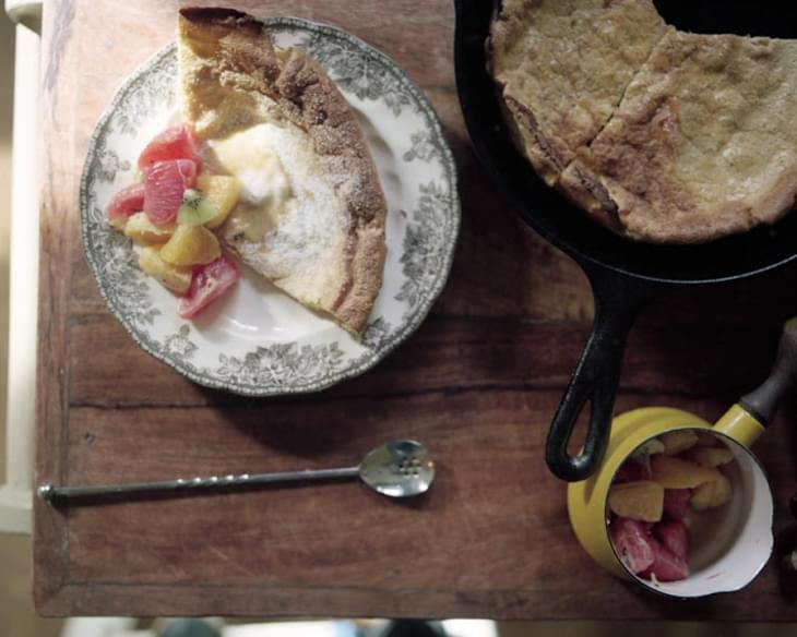 Whole Wheat Dutch Baby Pancakes