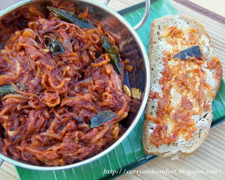Deviled Onion Sambal- Sri Lankan (Spicy)