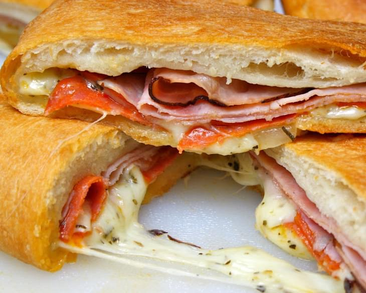 Becky's Famous Football Party Stromboli