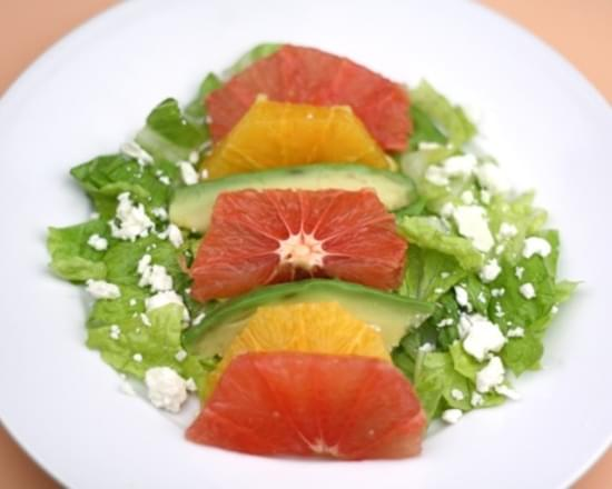 Grapefruit, Orange, and Avocado Salad