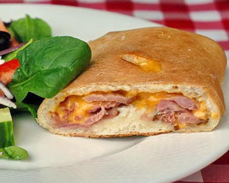 Ham and Cheese Stromboli