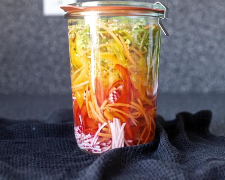 Pickled Vegetable Sandwich Slaw
