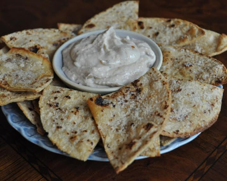 Parmesan Garlic Tortilla Chips