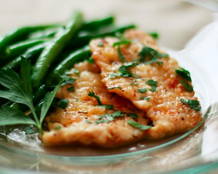 Turkey Picatta