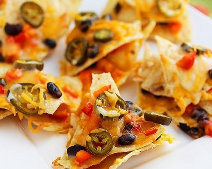 Cheesy Mexican Nacho Stacks