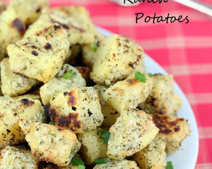 Oven Roasted Ranch Potatoes Recipe