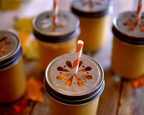 Creamy Pumpkin Smoothies