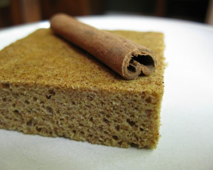 "Cinnamon ""French Toast"" Flat-bread (Nut-Free)"